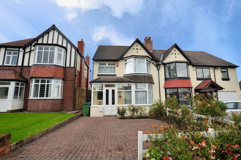 3 Bedrooms Semi Detached House for sale in Harborne Road, Warley Woods Area, Oldbury