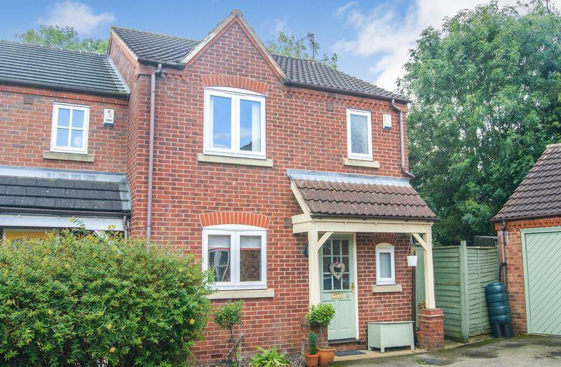 3 Bedrooms Semi Detached House for sale in Cannon Close, Newark