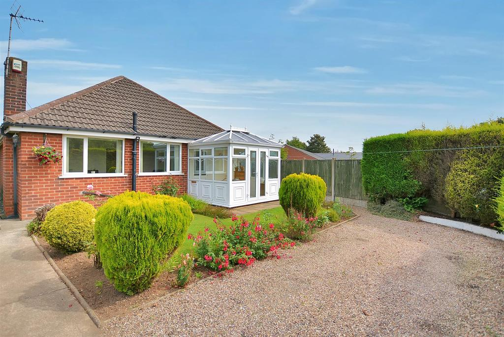 2 Bedrooms Detached Bungalow for sale in Chesterfield Road North, Pleasley