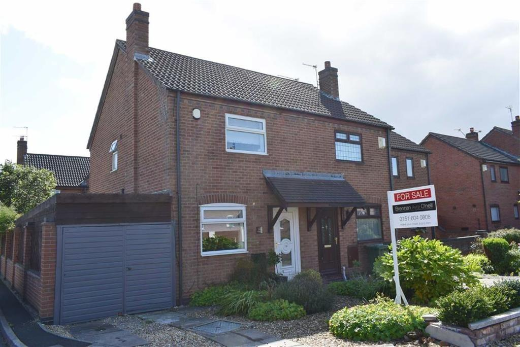 2 Bedrooms Terraced House for sale in Foxton Close, CH46