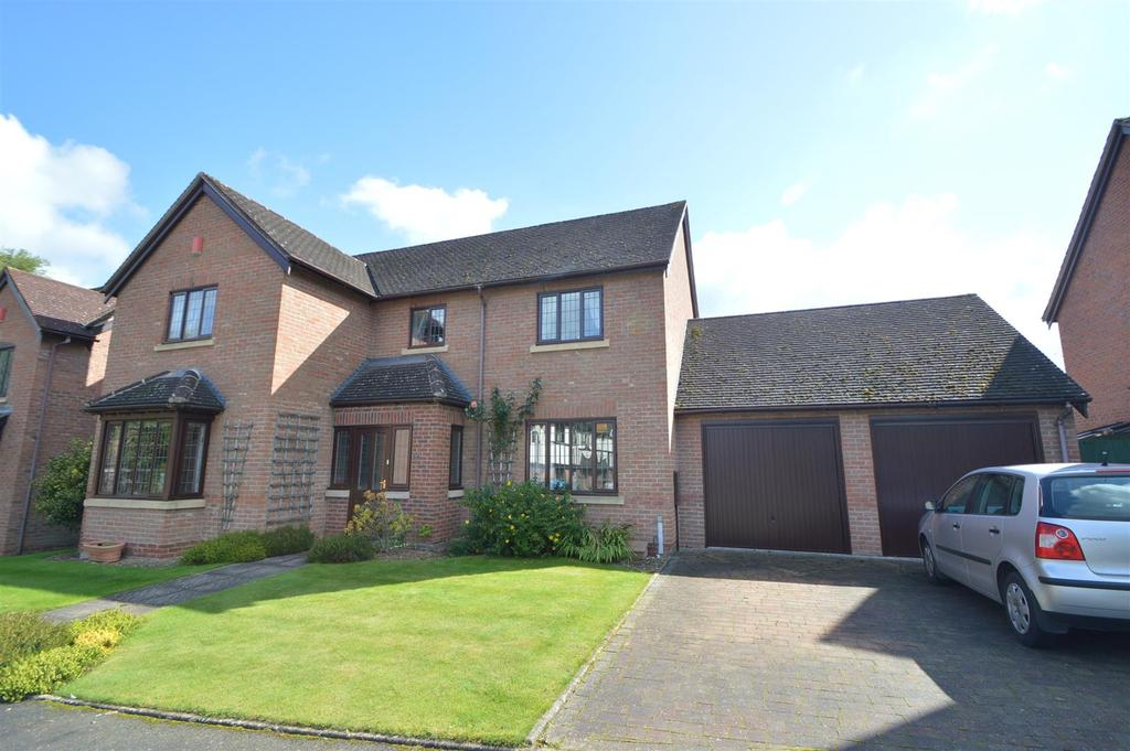 4 Bedrooms Detached House for sale in 12 Bowbrook Grange, Shrewsbury SY3 8XT
