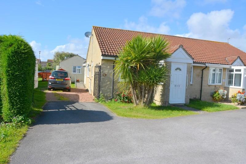 3 Bedrooms Semi Detached Bungalow for sale in Hawkins Close, Burnham-On-Sea