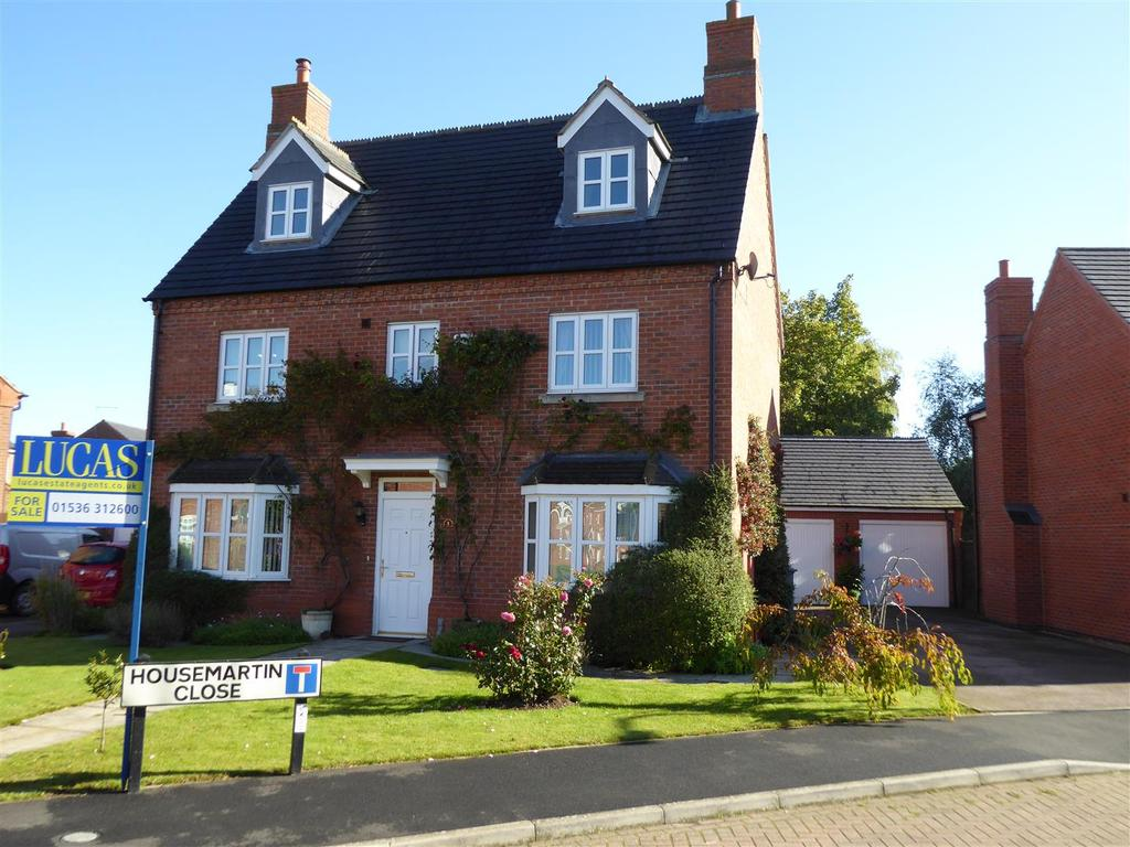 5 Bedrooms Detached House for sale in Housemartin Close