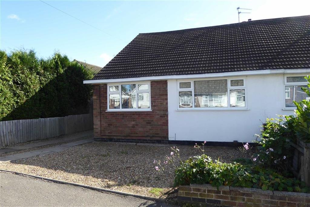 3 Bedrooms Semi Detached Bungalow for sale in Fairestone Avenue, Glenfield