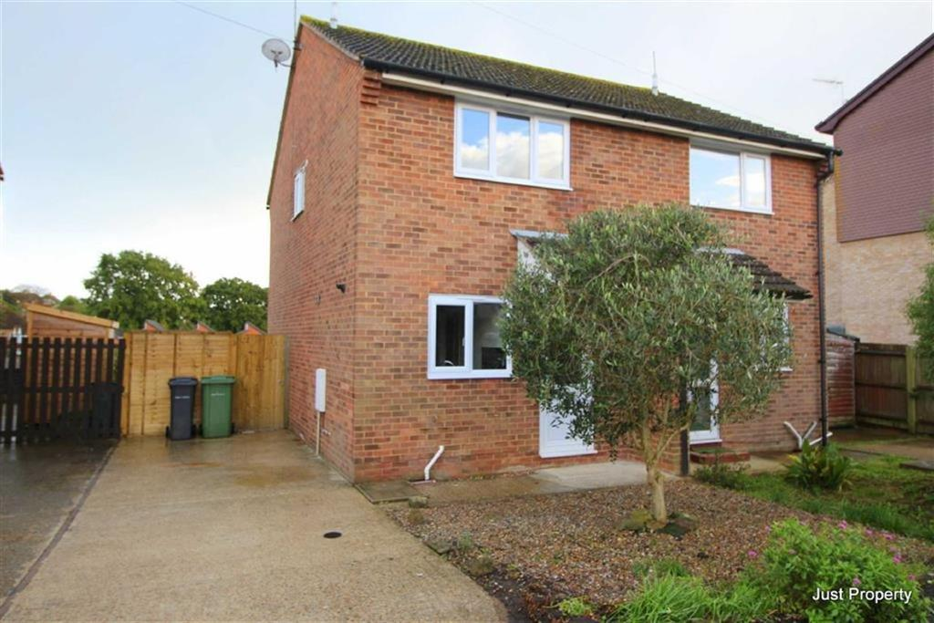 2 Bedrooms Semi Detached House for sale in Stevens Close, Bexhill On Sea