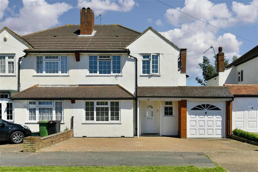 3 Bedrooms Semi Detached House for sale in Gosfield Road, Epsom, Surrey