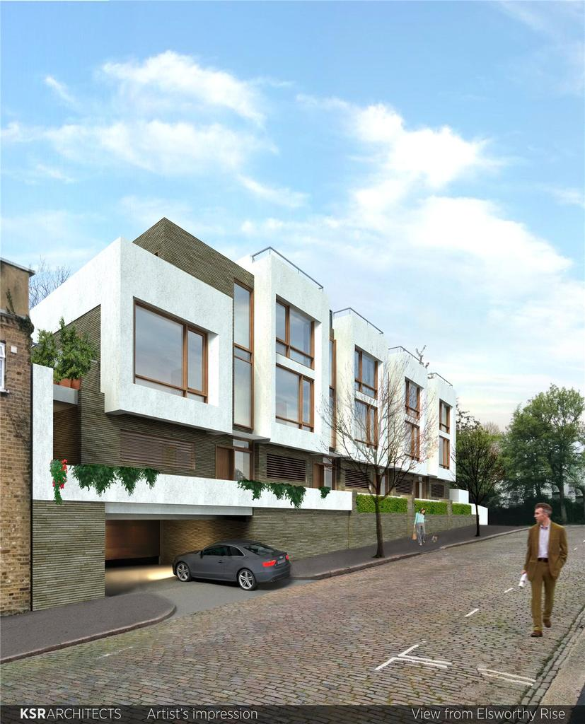 4 Bedrooms End Of Terrace House for sale in Elsworthy Rise, Primrose Hill, London, NW3