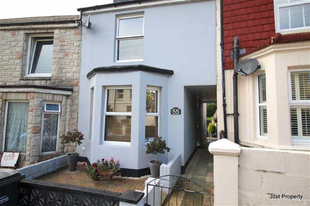 2 Bedrooms Terraced House for sale in Percy Road, Hastings