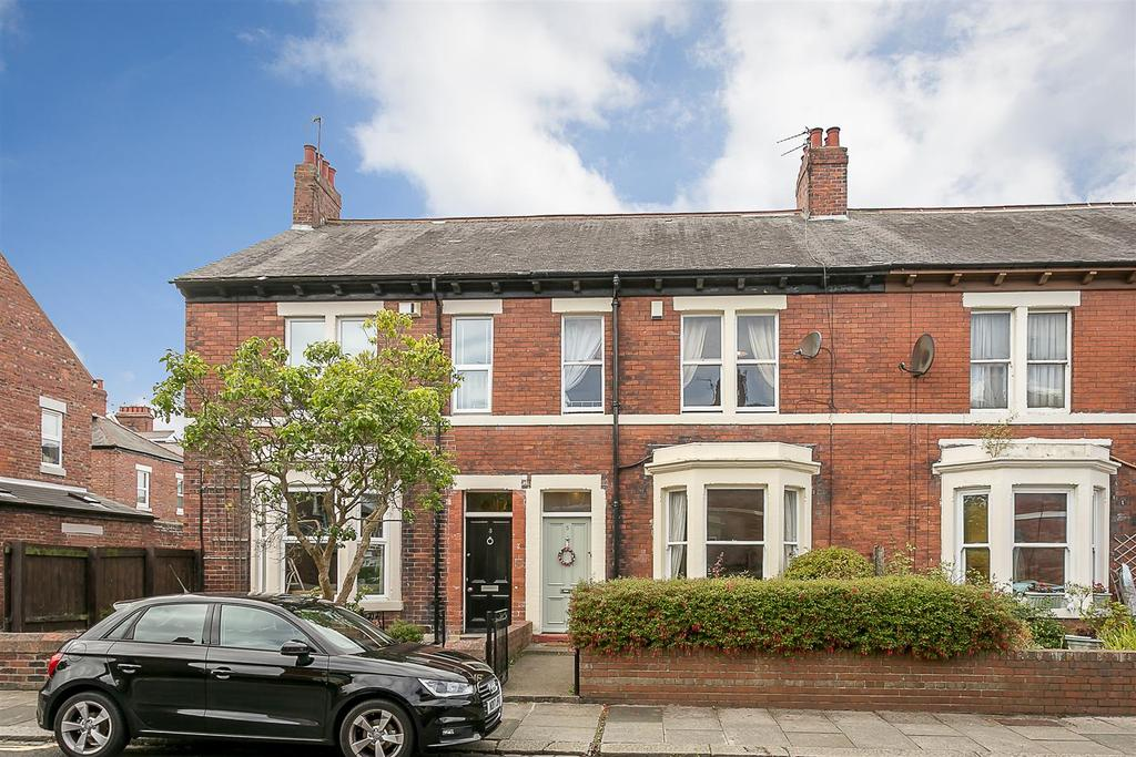 4 Bedrooms Terraced House for sale in Bath Terrace, Gosforth, Newcastle upon Tyne