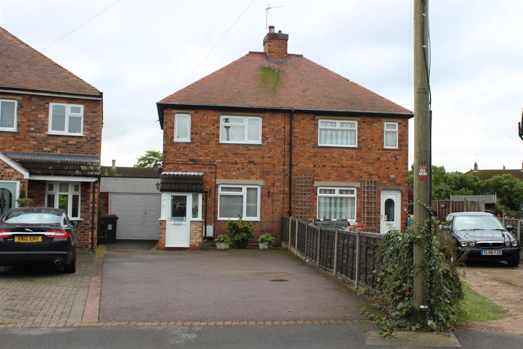 2 Bedrooms Semi Detached House for sale in Ralph Crescent, Kingsbury, Tamworth