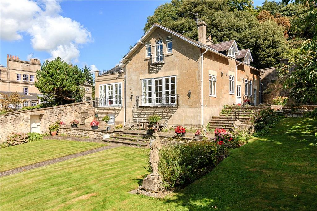 4 Bedrooms Detached House for sale in Bathwick Hill, Bath, Somerset, BA2