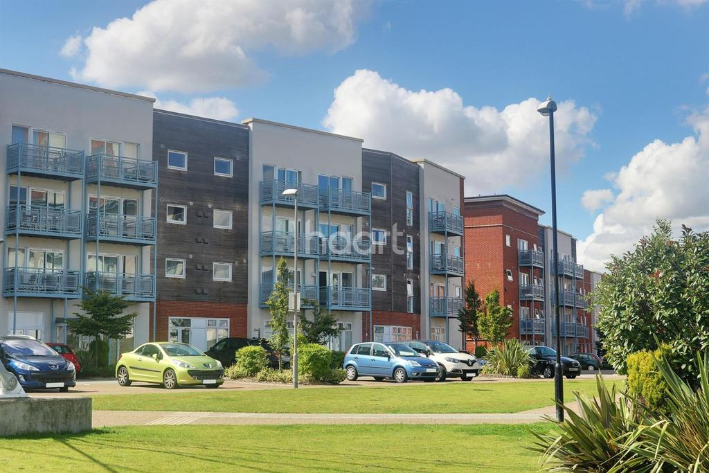2 Bedrooms Flat for sale in Holman Court, Ipswich