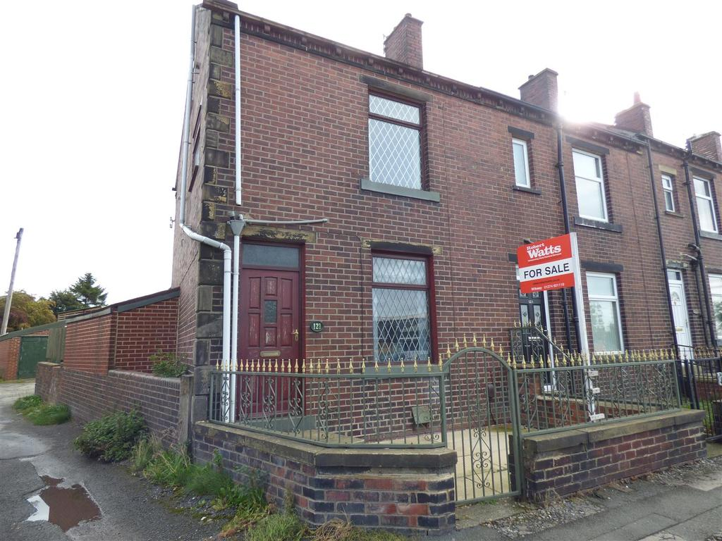 3 Bedrooms End Of Terrace House for sale in Woodside Road, Wyke, Bradford, BD12 8AJ