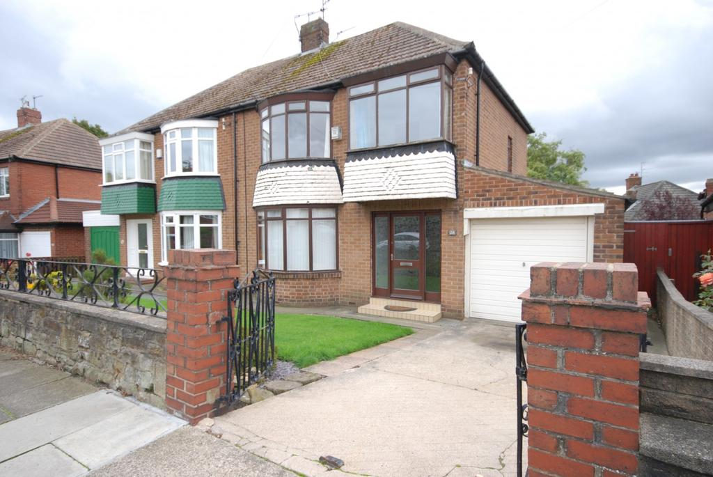 3 Bedrooms Semi Detached House for sale in Woodville Crescent, High Barnes
