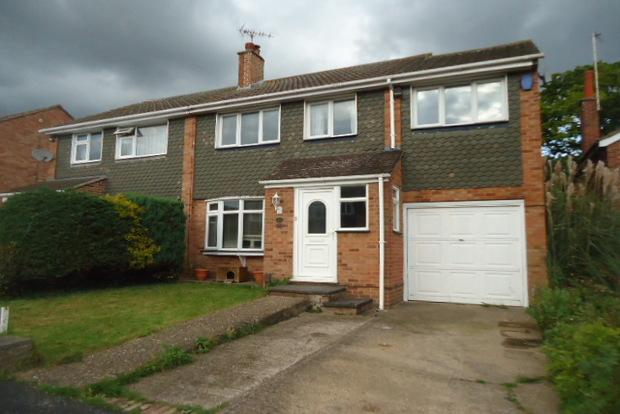 4 Bedrooms Semi Detached House for sale in Ashfield Drive, Anstey, Leicester, LE7
