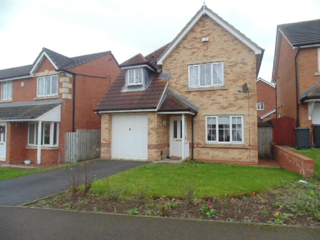 3 Bedrooms Detached House for sale in Falmouth Drive, Darlington