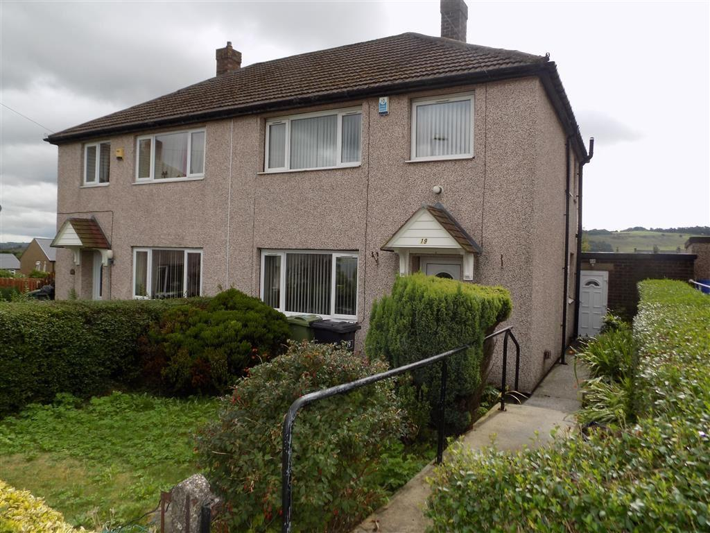 2 Bedrooms Semi Detached House for sale in Coombe Road, Longwood, Huddersfield, HD3