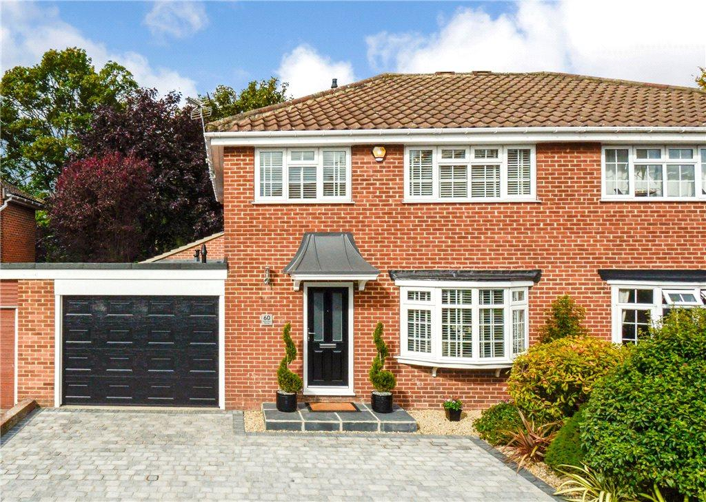 4 Bedrooms Semi Detached House for sale in Harcourt Drive, Harrogate, North Yorkshire