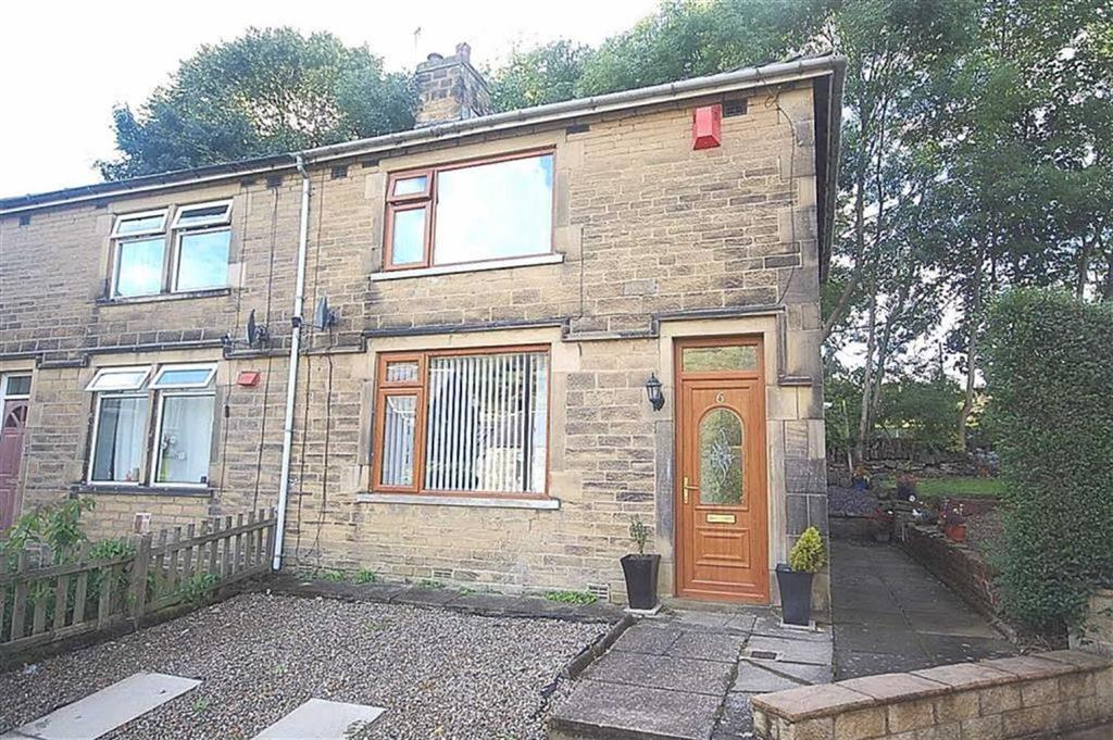 2 Bedrooms Semi Detached House for sale in Holmfield Gardens, Off Shay Lane, Holmfield, Halifax, HX2