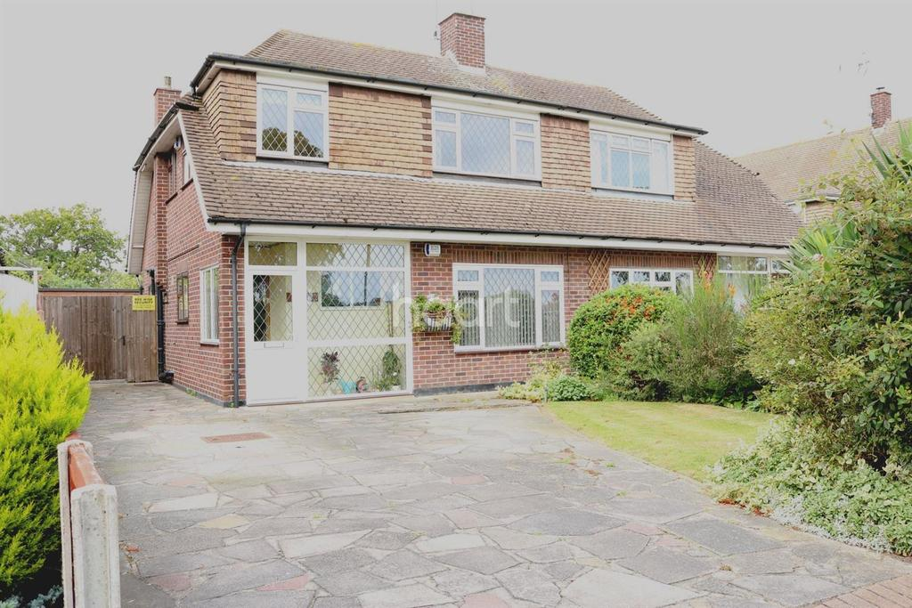 3 Bedrooms Semi Detached House for sale in Leigh-on-sea