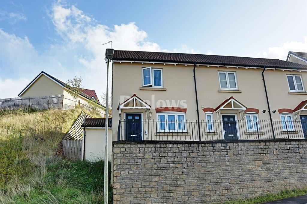 2 Bedrooms End Of Terrace House for sale in Cyfarthfa Mews