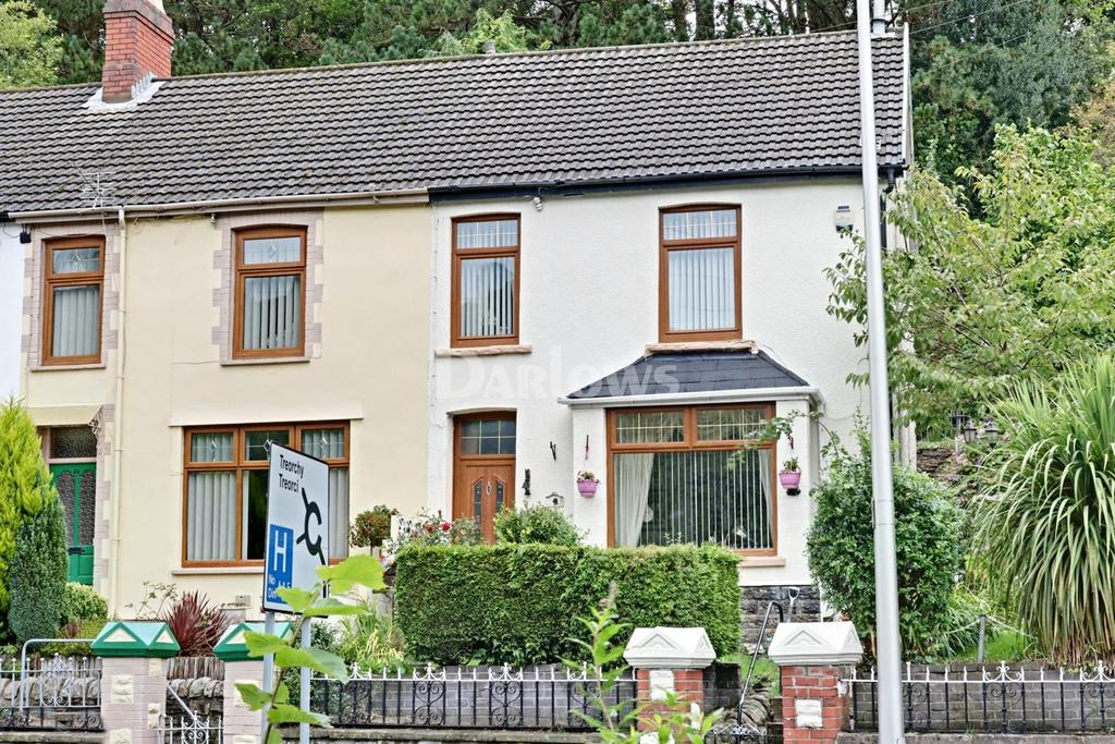 3 Bedrooms End Of Terrace House for sale in Partridge Rd, Llwynypia