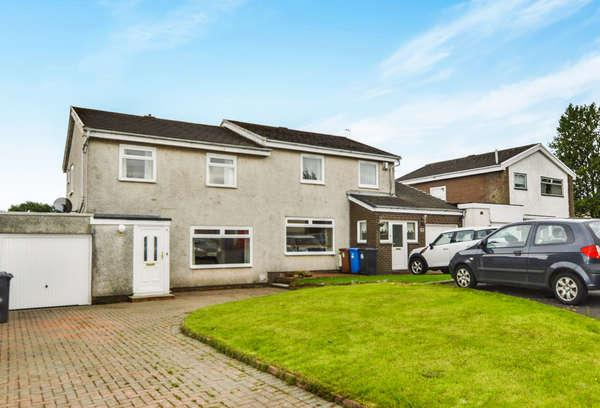 3 Bedrooms Semi-detached Villa House for sale in 18 Bruntsfield Avenue, Kilwinning, KA13 6RY