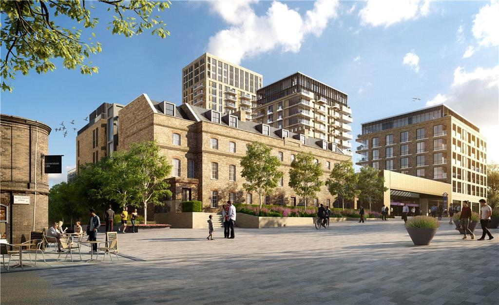 3 Bedrooms Flat for sale in Royal Arsenal Riverside, Woolwich, London, SE18