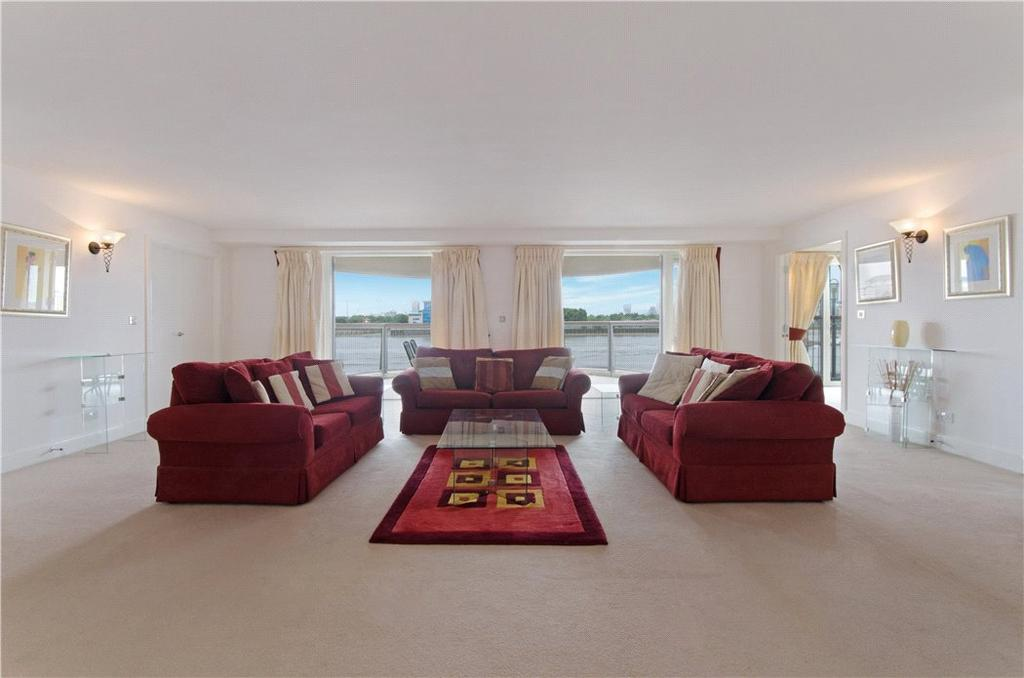 4 Bedrooms Flat for sale in Pierpoint Building, 16 Westferry Road, Nr Canary Wharf, London, E14