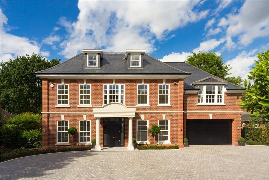 6 Bedrooms Detached House for sale in Godolphin Road, Weybridge, Surrey, KT13