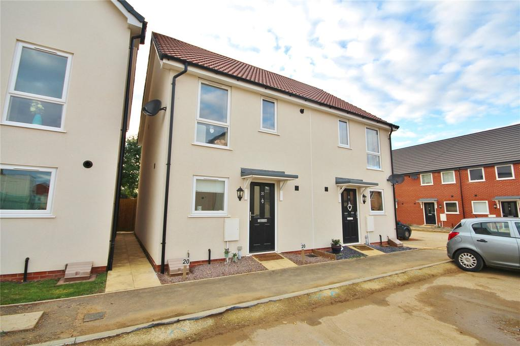 2 Bedrooms Semi Detached House for sale in Cherry Paddocks, Cherry Willingham, LN3