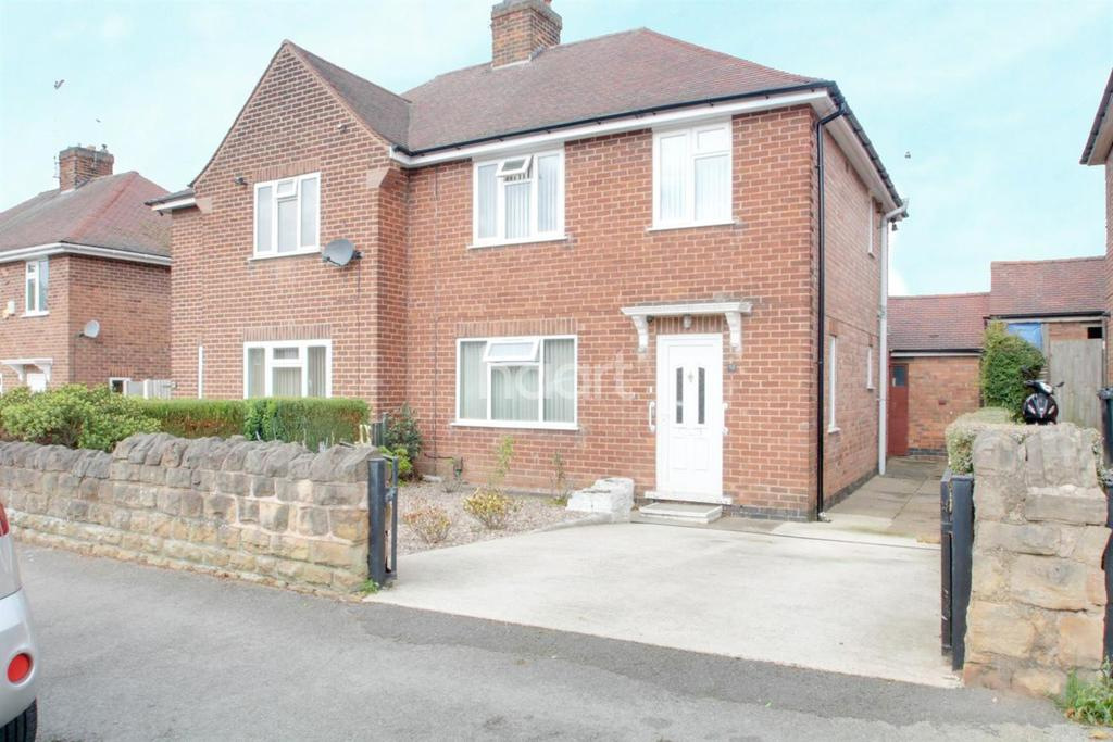 3 Bedrooms Semi Detached House for sale in Ravenswood Road, Arnold