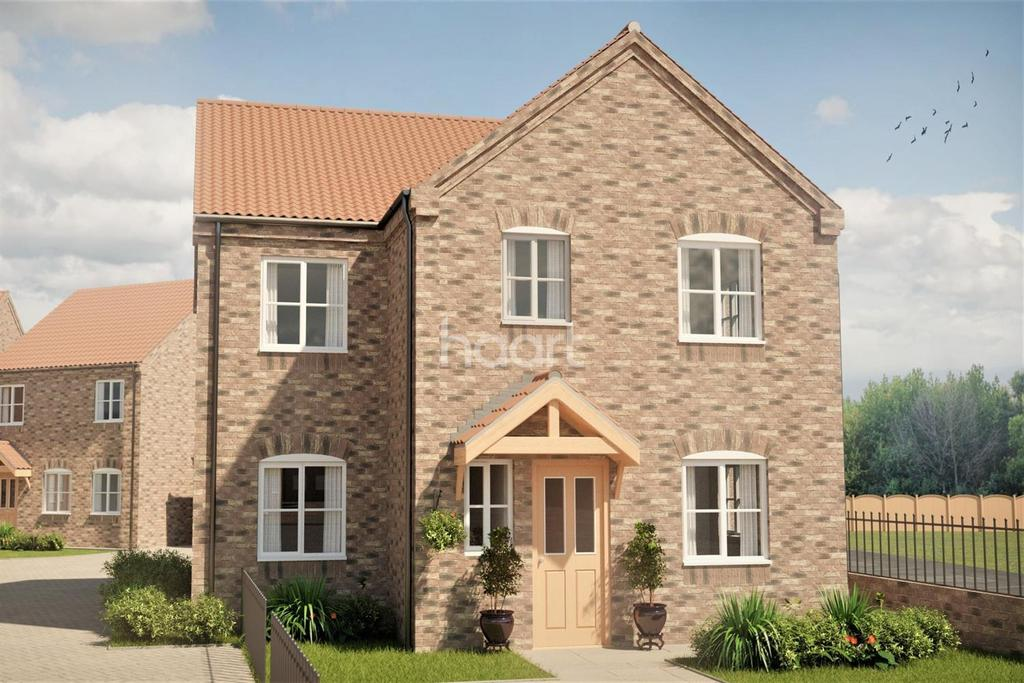 4 Bedrooms Detached House for sale in Plot 1 Daleside Place, Colwick