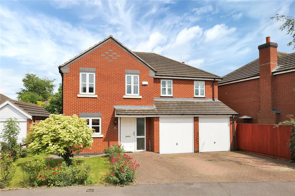 5 Bedrooms Detached House for sale in Durham Close, Melton Mowbray, Leicestershire
