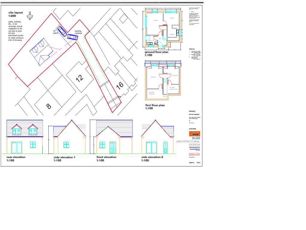Detached House for sale in BUILDING PLOT Station Road, Desborough, NN14 2RL