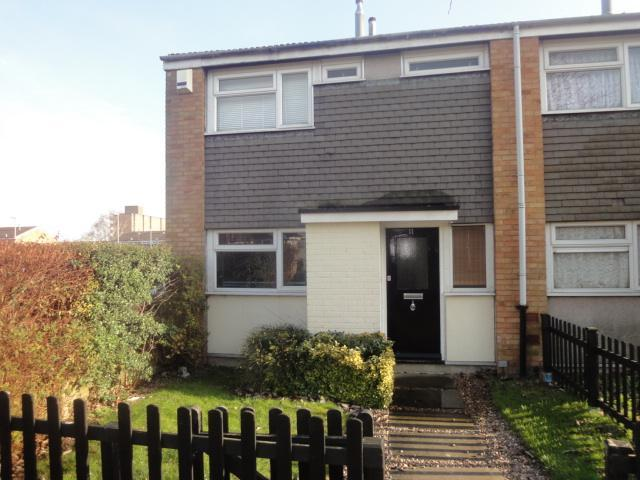 3 Bedrooms End Of Terrace House for sale in Fitzwarrin Close, Luton, LU3 3RY