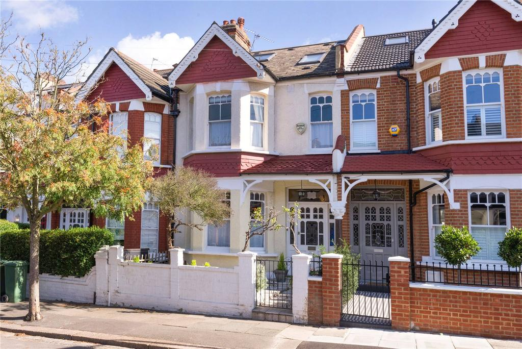4 Bedrooms Terraced House for sale in Melrose Avenue, Wimbledon Park, SW19