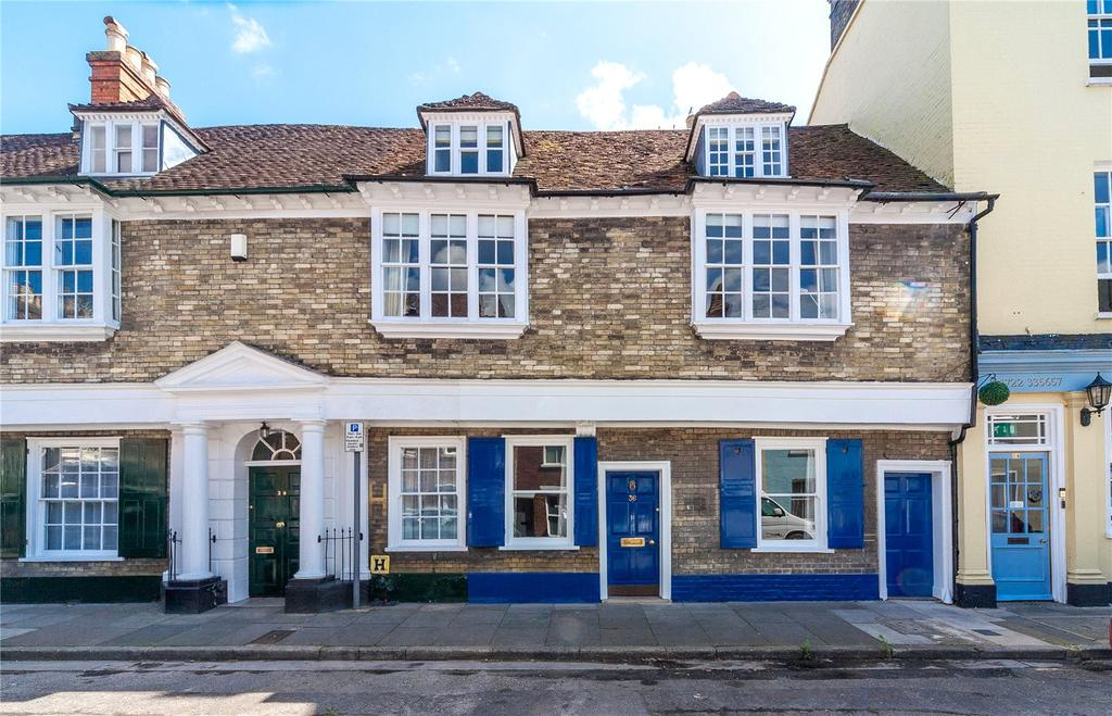 4 Bedrooms Terraced House for sale in St. Ann Street, Salisbury, Wiltshire, SP1