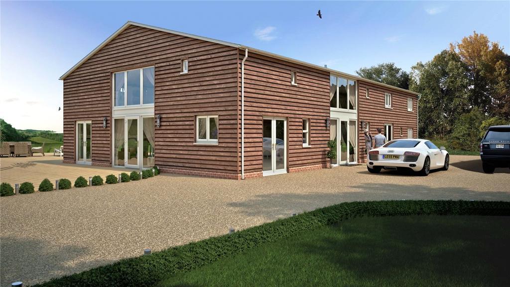 5 Bedrooms Detached House for sale in Wigbeth, Horton, Wimborne, Dorset, BH21