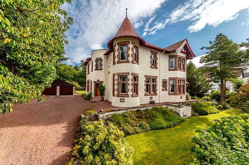 5 Bedrooms Detached House for sale in Slioch, Gryffe Road, Kilmacolm, Renfrewshire, PA13