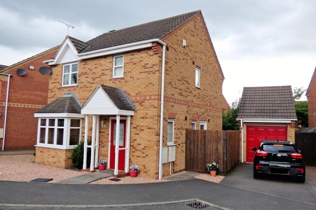 3 Bedrooms Detached House for sale in Waterton Close, Stretton