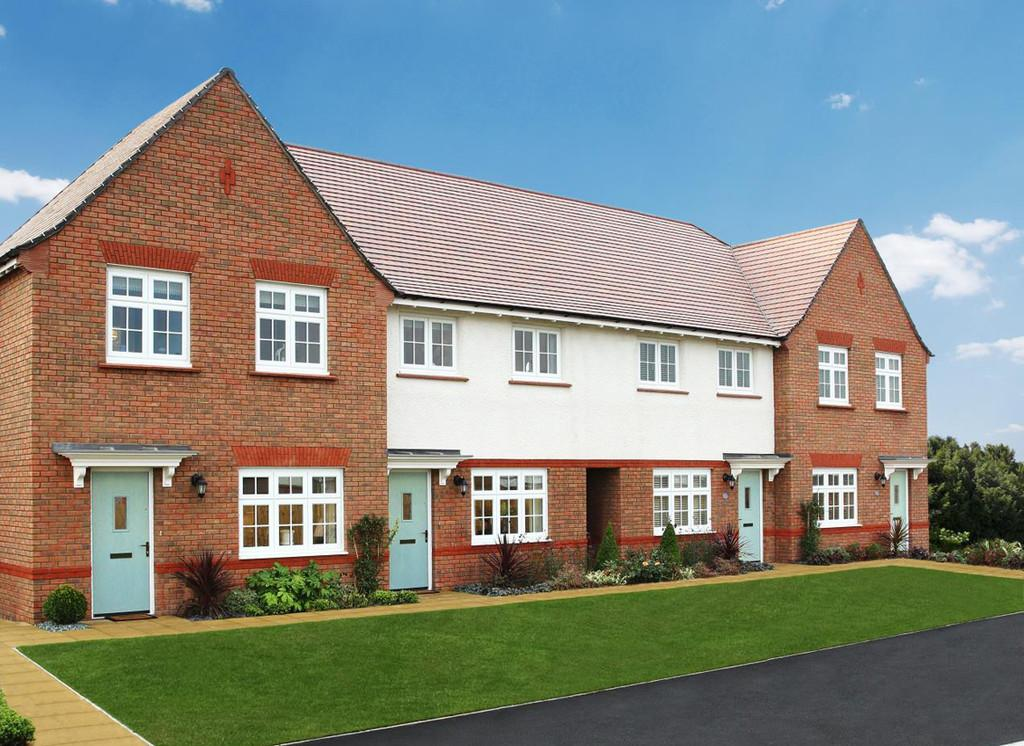 3 Bedrooms Terraced House for sale in Plot 25 The Malvern , Stanbury Meadows