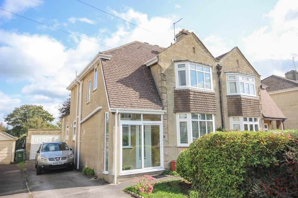 4 Bedrooms Semi Detached House for sale in Hansford Square, Combe Down, BATH