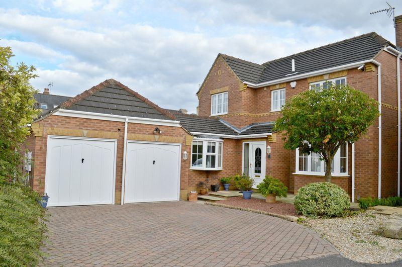 4 Bedrooms Detached House for sale in Norfolk Crescent, Bracebridge Heath