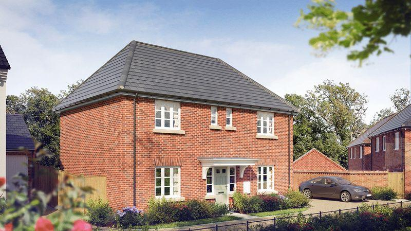 4 Bedrooms Detached House for sale in THE REPTON, BRINDLEY PARK, CHELLASTON