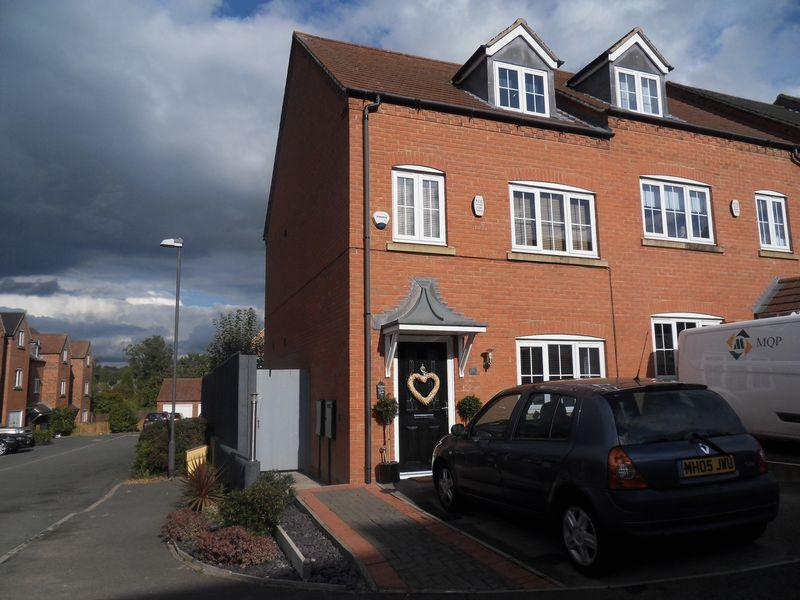 4 Bedrooms Semi Detached House for sale in Lakeshore Crescent, Coalville