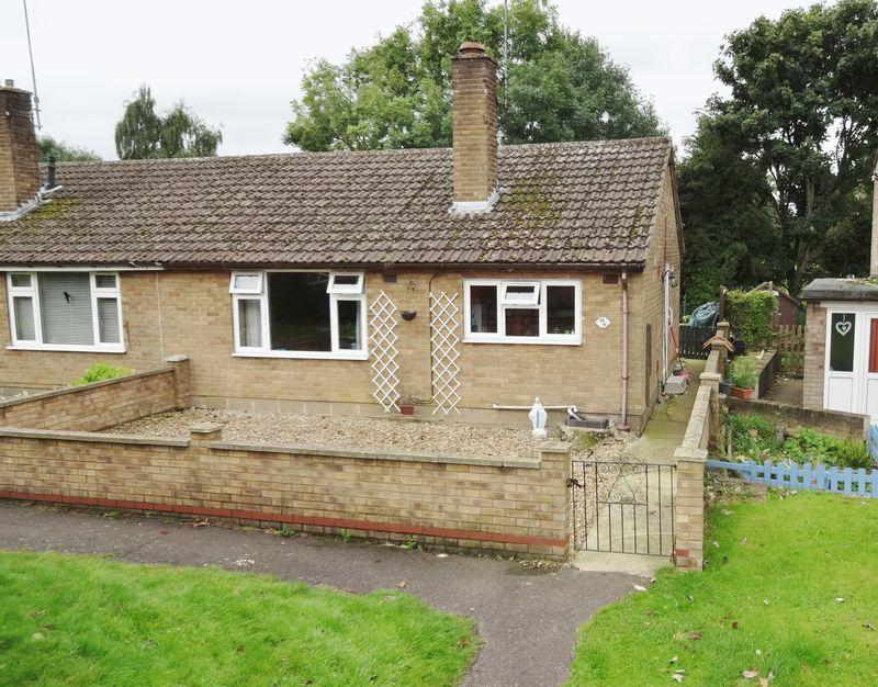 2 Bedrooms Semi Detached Bungalow for sale in Spinney Road, Weldon