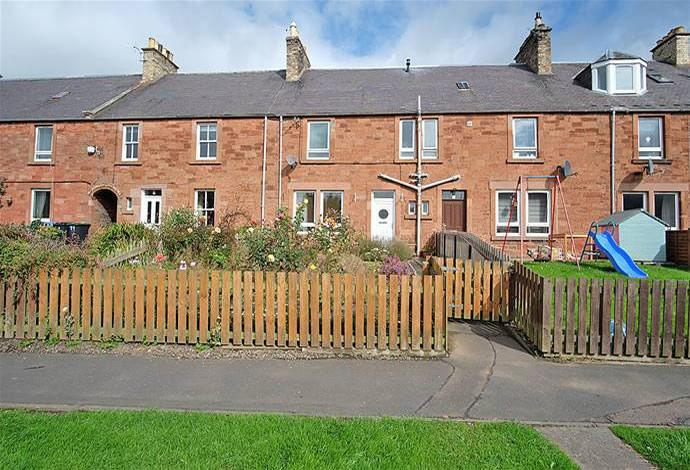 2 Bedrooms Terraced House for sale in 7 Sprouston Cottages, Newtown St Boswells, TD6 0QZ