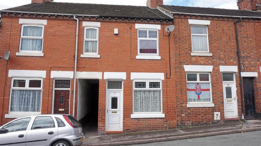 3 Bedrooms Terraced House for sale in Booth Street, Chesterton, Newcastle, Staffs