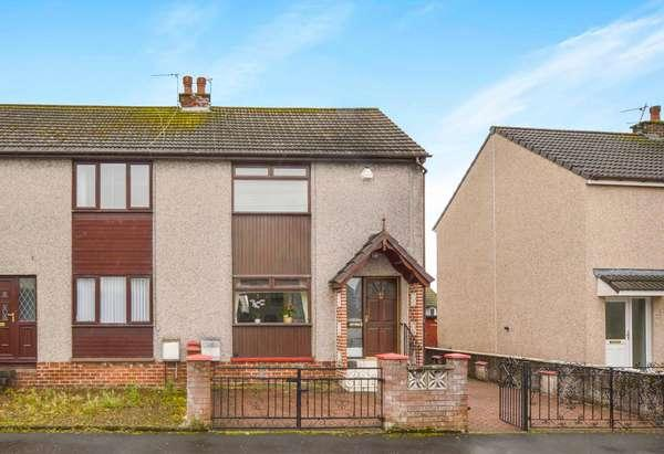 2 Bedrooms End Of Terrace House for sale in 40 Corsehill, Kilwinning, KA13 7NW
